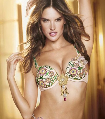 Alessandra Ambrosio to model $2.5 million Victoria's Secret Fantasy bra