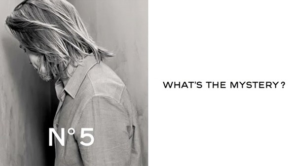 Sneak peek at Brad Pitt's Chanel No.5 ad campaign