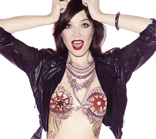 Top stories this week: Daisy Lowe nude and tattooed for JPG, Jennifer Lawrence for Dior and Carine Roitfeld for Harper's Bazaar