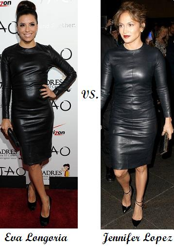 Eva Longoria vs. Jennifer Lopez in The Row