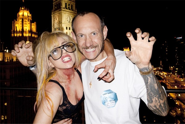 Lady Gaga and Terry Richardson launch Pop Water