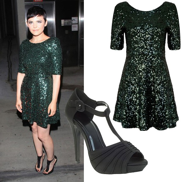 Get Ginnifer Goodwin's sparkly high street look
