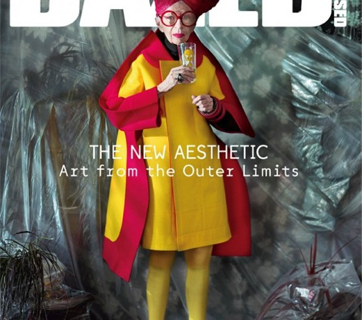 Iris Apfel covers Dazed and Confused holding a Tweety Bird cup
