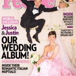 Jessica Biel's pink Giambattista Valli wedding dress revealed