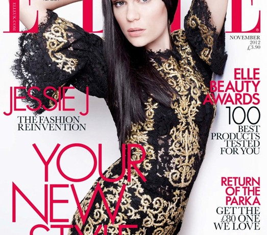 Jessie J stuns in Dolce and Gabbana for Elle November