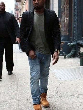 Is Kanye West teaming up with Karl Lagerfeld?