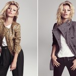 Kate Moss showcases Mango's autumn/winter 2012 collection