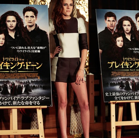 Kristen Stewart test drives Louis Vuitton's SS13 collection!