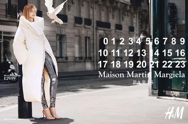 Maison Martin Margiela for H&M ads unveiled!