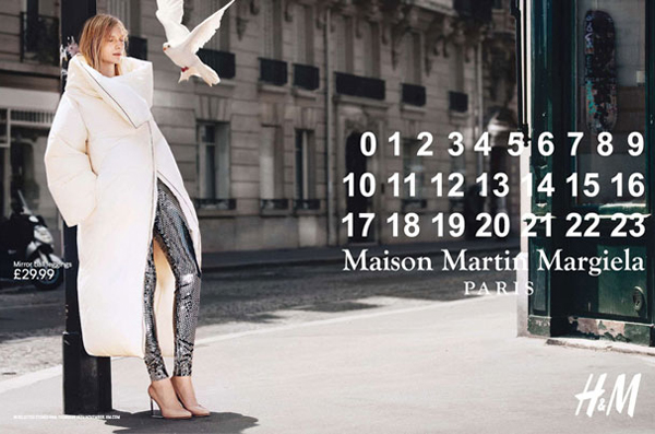 Maison Martin Margiela for H&M ads unveiled!