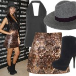 Get Michelle Keegan's Rock and Rags look