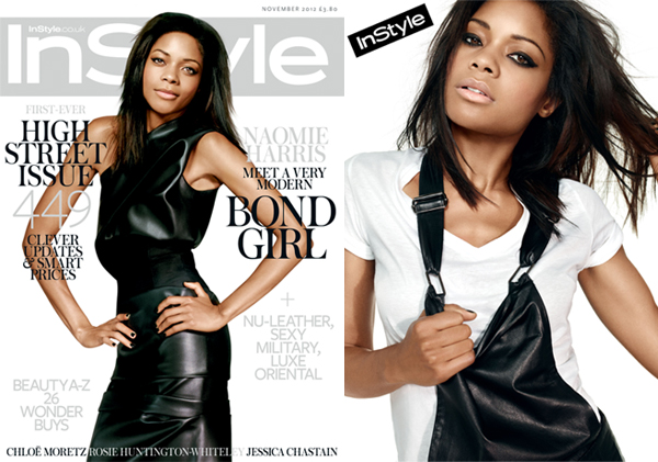 Meet new Bond girl Naomie Harris in InStyle UK November