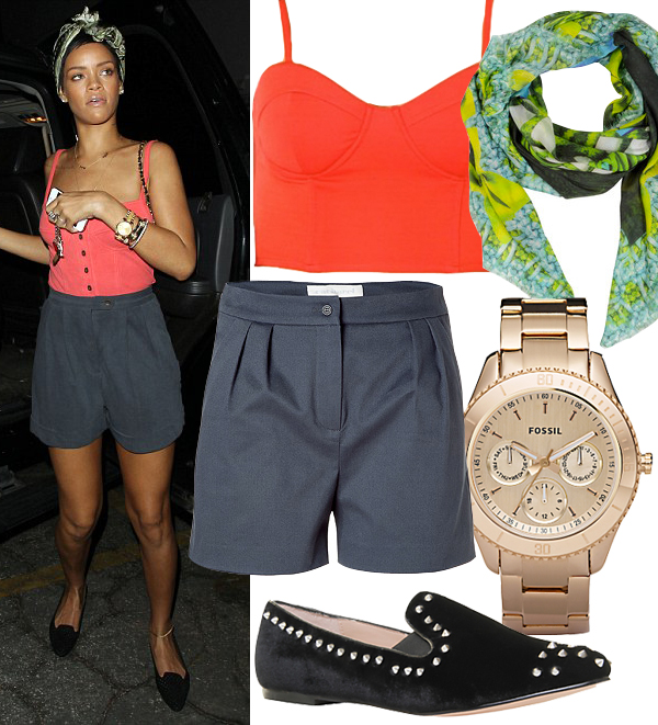 Get Rihanna's LA party look