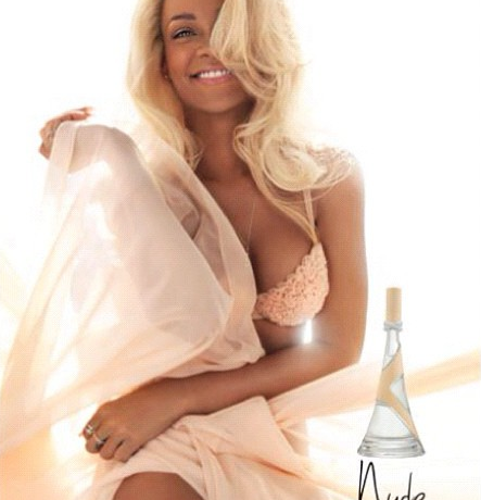 "Rihanna goes innocent for her ""Nude"" fragrance ad campaign"