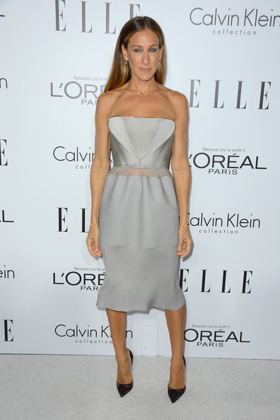 Sarah Jessica Parker's simple sophistication in Calvin Klein