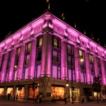 Selfridges turns pink for Breast Cancer Awareness