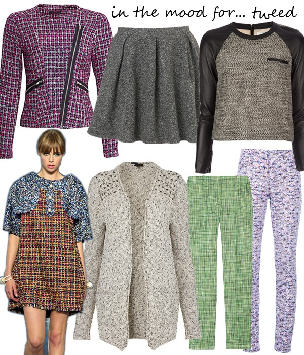 Midweek Moodboard: Chanel-inspired tweed