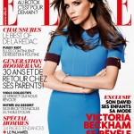 Karl Lagerfeld shoots Victoria Beckham for Elle France