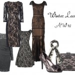 Make a statement in lace this winter!