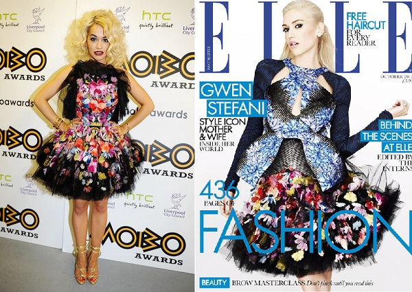 Rita Ora vs. Gwen Stefani – Who carried off McQ Alexander McQueen better?