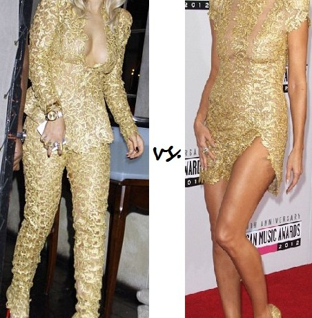 Rita Ora vs. Heidi Klum: Who rocked Alexandre Vauthier Couture better?