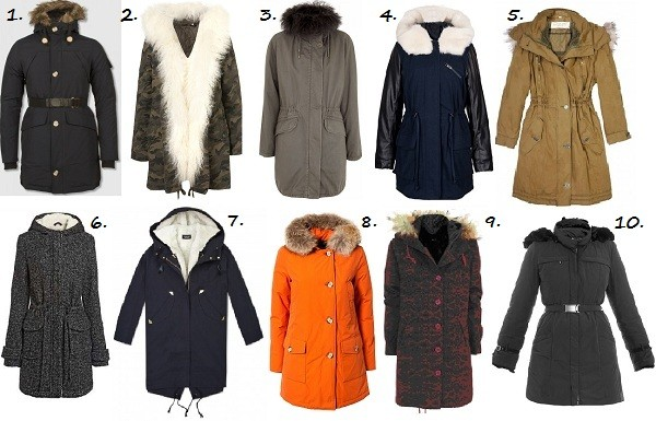 10 Parkas to keep you warm and snug