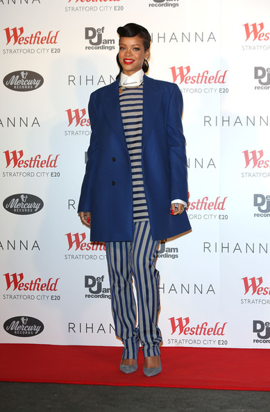 Rihanna's menswear look lands Best Dressed of the Week!
