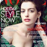 Anne Hathaway's a natural beauty for Vogue US December