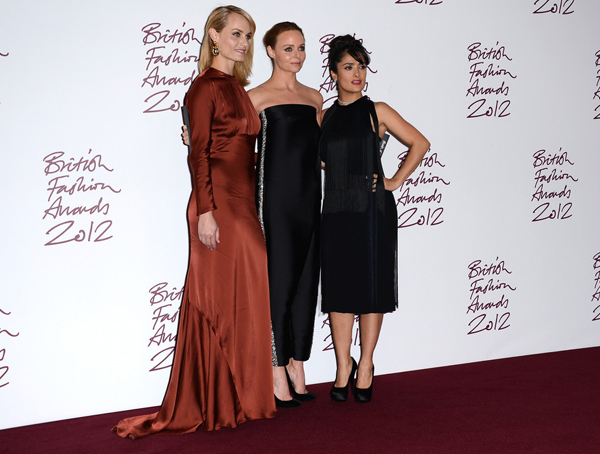 Who won what at the 2012 British Fashion Awards…