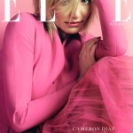 Cameron Diaz pretty in pink for Elle UK December