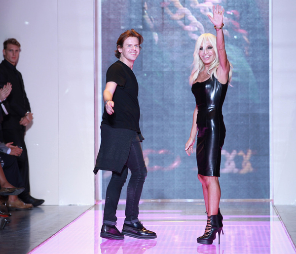 Has Christopher Kane left Versus for Balenciaga?