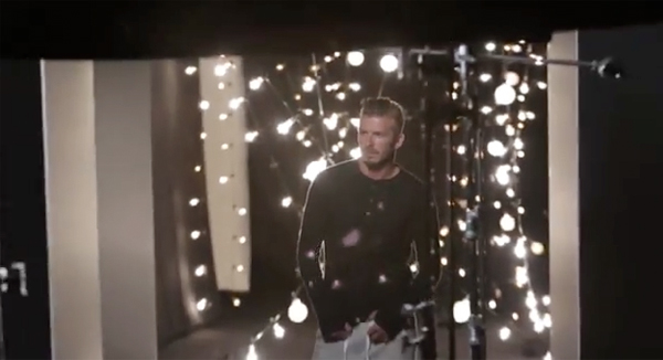 See David Beckham's H&M Bodywear Christmas collection