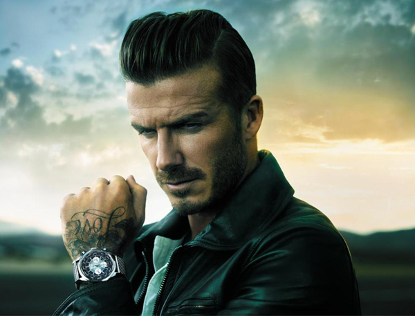 David Beckham is the new brooding face of Breitling