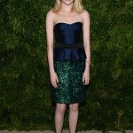 Emma Stone sparkles in Burberry at the CFDA/Vogue Awards