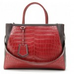Crushing on the Fendi 2Jours Leather Tote!
