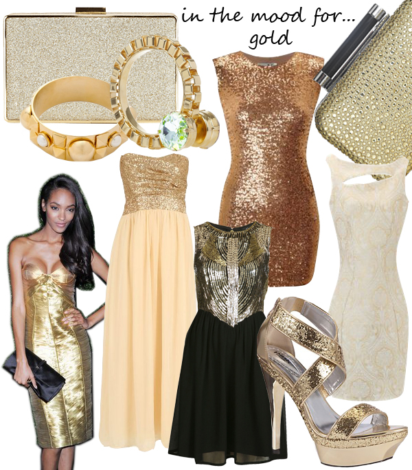 Midweek Moodboard: Going for gold