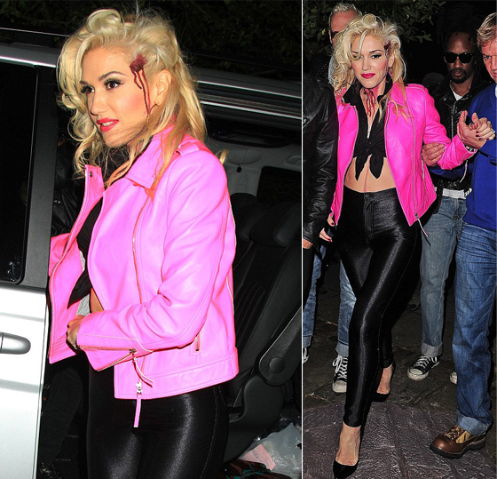 We love Gwen Stefani's sexy, bloody, 'Bad Sandy' Halloween look