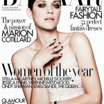 Marion Cotillard dramatic in Dior for Harper's Bazaar UK December