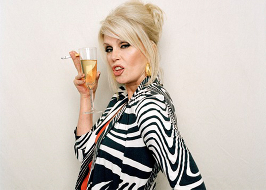 Joanna Lumley's Ab Fab wardrobe sells for £15,000