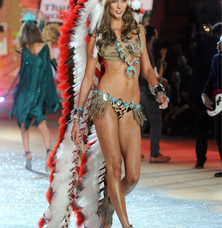 Karlie Kloss's Victoria's Secret American Indian outfit causes controversy