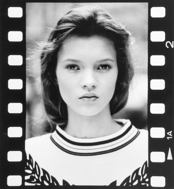 Pics of 14-year-old Kate Moss up for auction