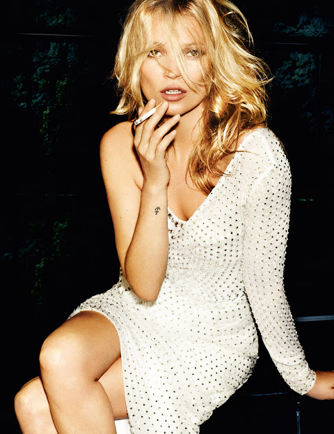 Meet Kate Moss in London tomorrow!