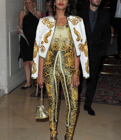 Is M.I.A collaborating with Versace?