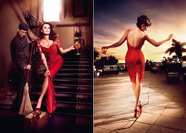 Penelope Cruz sizzles for the 2013 Campari Calendar