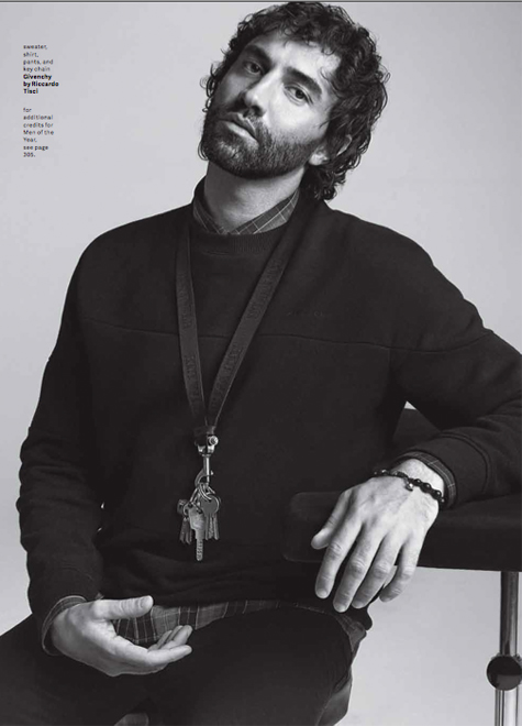 """For me, darkness is something very beautiful,"" Riccardo Tisci, GQ"