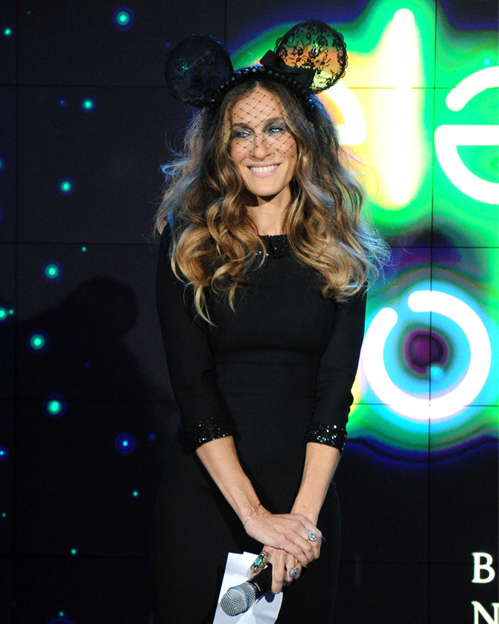 Sarah Jessica Parker doesn't think she's a fashion icon…