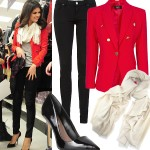 Get Selena Gomez's military inspired look