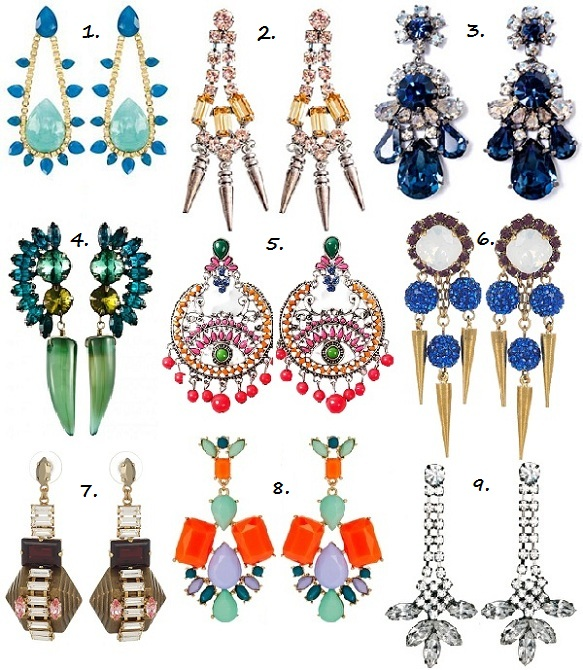 Be loud and proud in this season's hottest statement earrings!