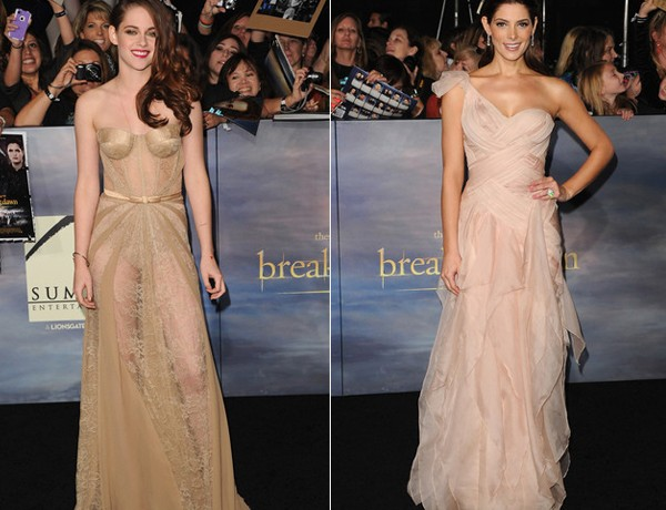 Kristen Stewart and Ashley Greene hit up the Twilight: Breaking Dawn Part 2 world premiere