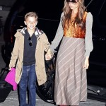 Victoria Beckham goes boho in Comme des Garçons